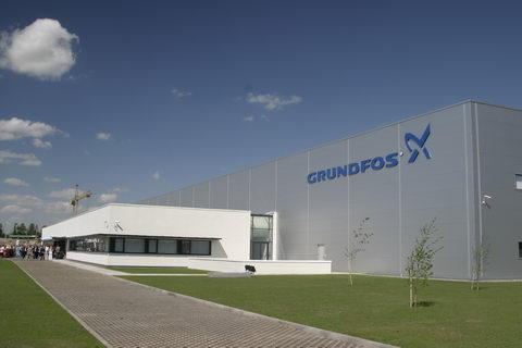 Подмосковный завод «ГРУНДФОС Истра» посетили представители «Группы компаний Danone в России»