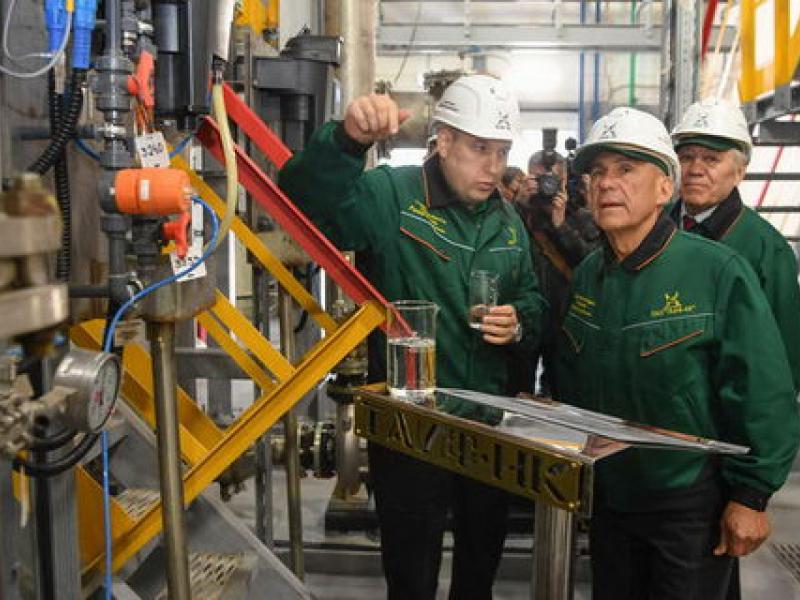 На НПЗ ОАО «ТАИФ-НК» запущены современные локальные очистные сооружения