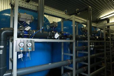 В Судиславле построена станция обезжелезивания мощностью 800 кубометров воды в сутки