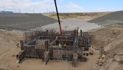 В Якутске завершается строительство водозабора