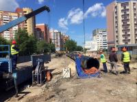 «Тюмень Водоканал» завершил укладку труб на первом участке нового канализационного коллектора