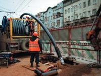 Применение технологии ПОЛИЛАЙНЕР при реконструкции трубопроводов холодного водоснабжения в центре Москвы