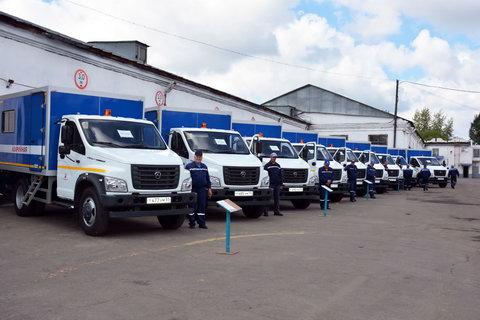 Водители Омскводоканала получили новые автофургоны марки ГАЗОН NEXT