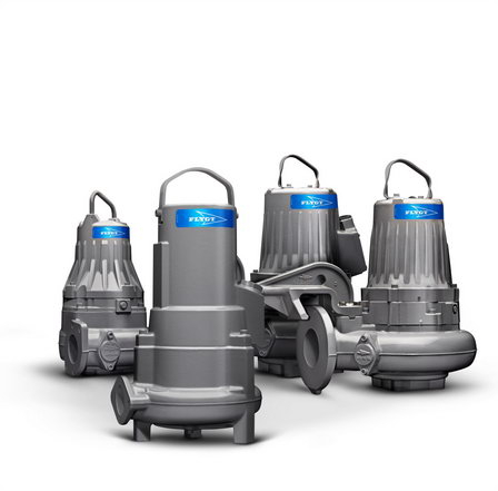 Xylem представляет компактные насосы для сточных вод с технологией Adaptive N™