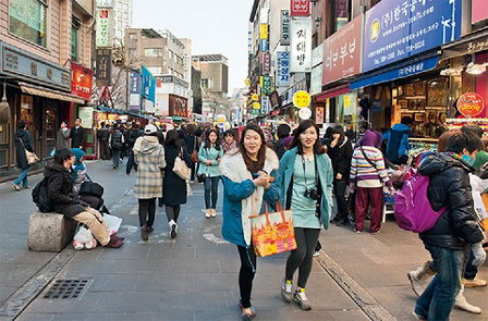 Жители Сеула потребляют воды больше, чем в Нью-Йорке и Токио