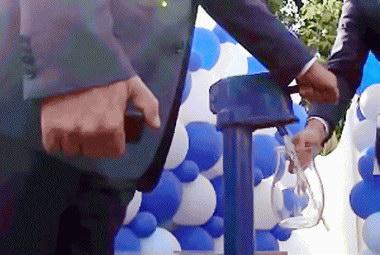 В Ленинском районе Томска построили систему водопроводных сетей с уличными колонками