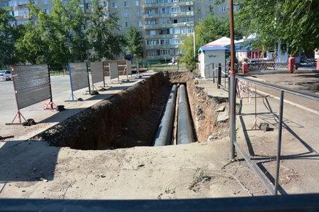 Реконструкция теплотрасс в Оренбурге проходит под эгидой федерального проекта «RE:Конструкция 2017»