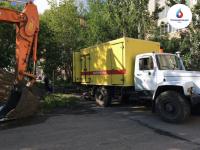 Большую часть работ на сетях ОмскВодоканал проводит бестраншейным методом