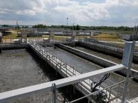 В тульском микрорайоне Октябрьский  реконструируют систему водоотведения
