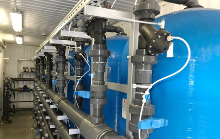 В Волоколамске введена в эксплуатацию новая станция очистки воды
