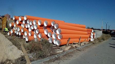 В ЖК «Европейский» Волгограда проложат новый канализационный коллектор