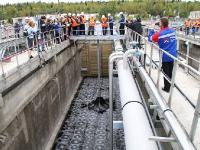 В Петрозаводске завершился очередной этап реконструкции канализационных очистных сооружений