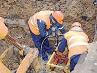В Рыбинске на реконструкции сетей испытывают гидравлический проходчик