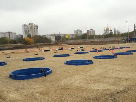 «Концессии водоснабжения» построили в Волгограде стационарный учебно-тренировочный полигон