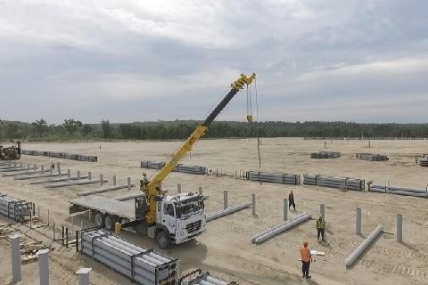 ГК «Штарк» установила станцию водоочистки ЛОС-300 на территории строительства Амурского ГПЗ