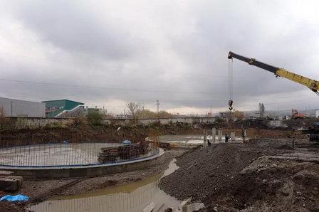 На реконструкции КОС правого берега Иркутска организованы работы в две смены