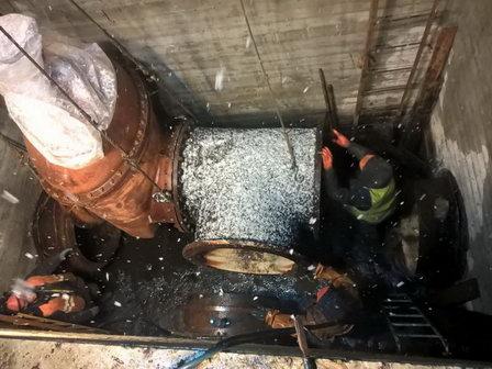 В Архангельске завершается первый этап строительства кольцевого водовода