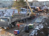 На насосной станции «Южная» в Перми приступили к монтажу стен нового резервуара