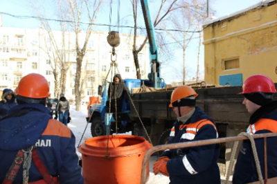Хабаровским водоканалом введён в эксплуатацию первый сборный полимерный канализационный колодец