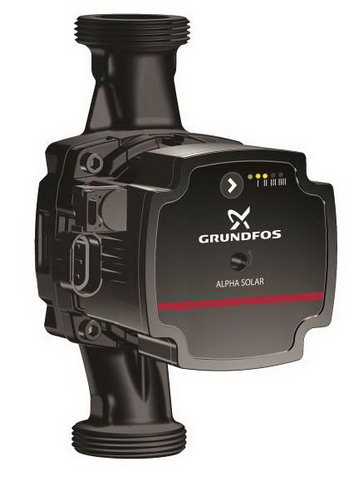 GRUNDFOS начал продажи циркулярного насоса ALPHA для солнечных коллекторов