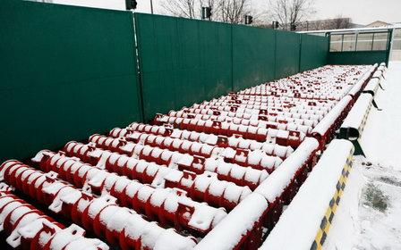 В Петербурге измерили объём растопленного снега с помощью инновационной автоматической системы измерения снежных масс