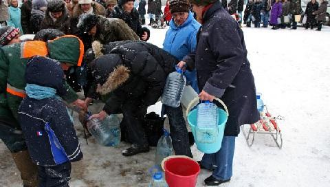 В городе Тайга Кемеровской области опять произошло ЧП с питьевой водой