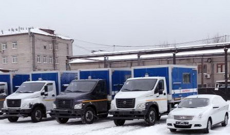 «Росводоканал Барнаул» приобрёл 13 единиц новой автомобильной и специальной техники