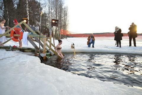 МЧС России по Тюменской области заканчивает приём крещенских купелей