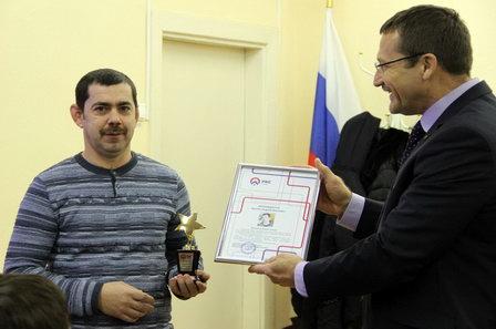 В СКС наградили победителей шуги