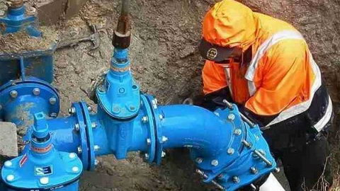 В Архангельске запущен резервный кольцевой водовод