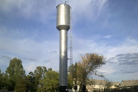 В Красносулинском районе Ростовской области установлены семь водонапорных башен