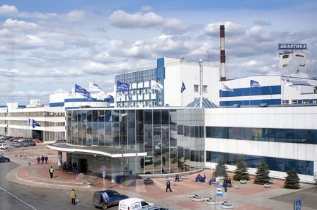 Компания «Балтика» инвестирует 600 млн руб. в строительство биологических очистных сооружений в Петербурге