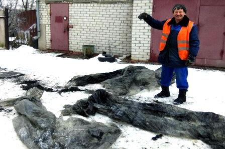 Причиной аварии на канализационном коллекторе в Воронеже стали 10 килограммов пластиковой плёнки