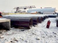 В  Красноярске ведут строительство теплосети диаметром 1000 мм к четвертому мосту через Енисей