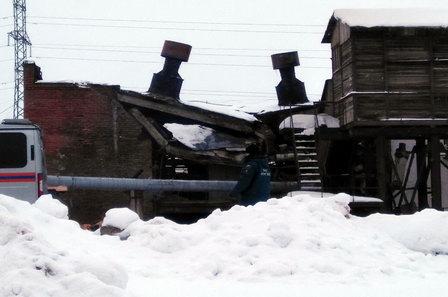 В Вологодской области обрушилась котельная  ОАО «Соколстром»