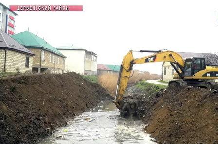 В Дагестане расчистят русло водного канала «Самур-Дербент»