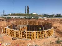 Новые очистные сооружения канализации в г. Саки в Крыму будут запущены в 2019 году