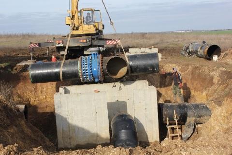 В 2018 году построят 20 км нового магистрального водопровода до Новороссийска