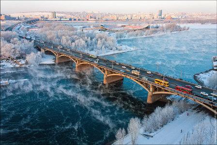 Специалисты Красноярской теплотранспортной компании в 2018 г. обновят и построят более 12 км трубопроводов