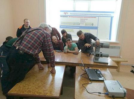 Сотрудники служб Хабаровского водоканала повысили квалификацию на демонстрационном оборудовании АУМА