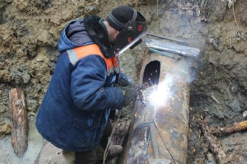 В Краснодарском крае осуществлена санация проблемного участка магистрального водовода МВ-3
