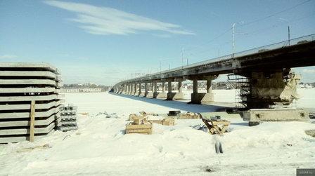На мосту через Волгу в Костроме смонтируют три комплекса очистных сооружений для сбора и сброса воды