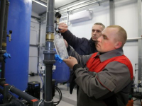 В с. Частоозерье Курганской области запустили новую станцию водоподготовки