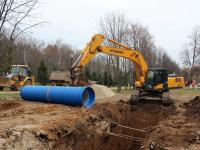 На  реконструкцию городских сетей водоснабжения и водоотведения Гукова Ростовской области направлено 620 млн. руб.