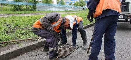В Барнауле начался второй этап  строительства системы ливневой канализации