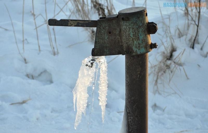 Летом в Тюмени будут утеплять водоразборные колонки