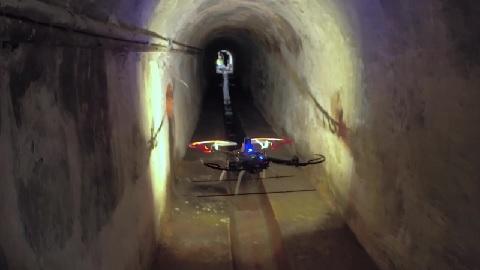 В Барселоне впервые в Европе использовали дрон для обследования канализационного коллектора