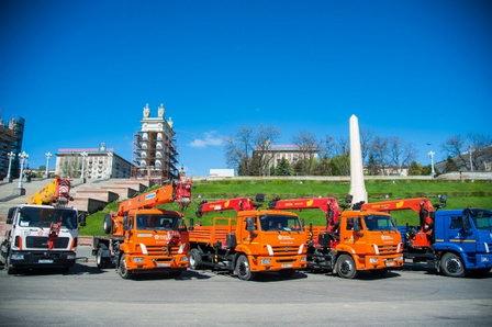 «Концессии теплоснабжения» Волгограда в рамках инвестиционной программы приобрели 66 единиц спецтехники