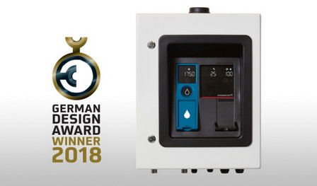 Насосы и терминал для раздачи воды Grundfos признаны лучшими продуктами на German Design Award