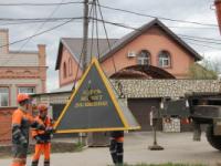 Сотрудники СКС в Самаре отлили арт-объект перед домом злостного должника